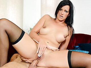 HITZEFREI Sina Velvet has her tight ass violated