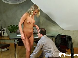 Her pussy took quite a hard pounding