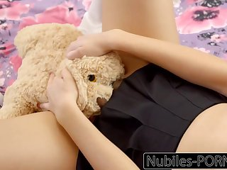 Nubiles-Porn Hot Daughter Squirts On Daddy's Big Cock