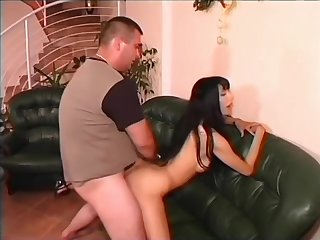Thin MILF getting dick - Julia Reaves