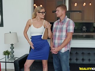 Good looking wihfe Addie Andrews fucked by a horny neighbor