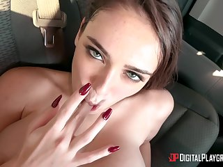 Glorious POV scenes shows this beauty in all her glory