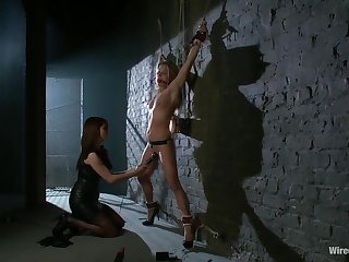 Princess Donna Dolore, Amanda Blow - Sexy Milf Tied Up and Dominated