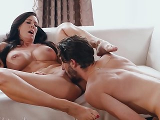 Horny nymphomaniac MILF has sex fun with cocky dreamboat- SHOW 143