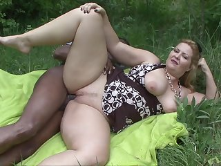 Big Beautiful Woman pussy Carmen Interracial casting