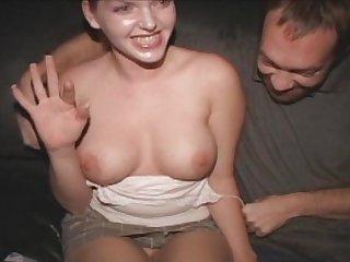 Hot Titty Candi Apple Porn Theater Gang Bang