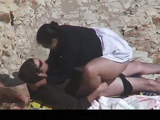Estrangeiro - Hidden Cam Couple, BIG BEAUTIFUL WOMEN in the beach procreation